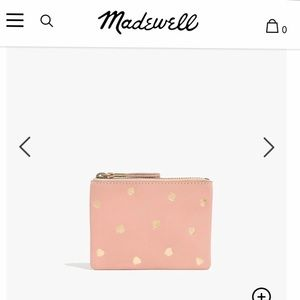 NWT Madewell Leather Wallet
